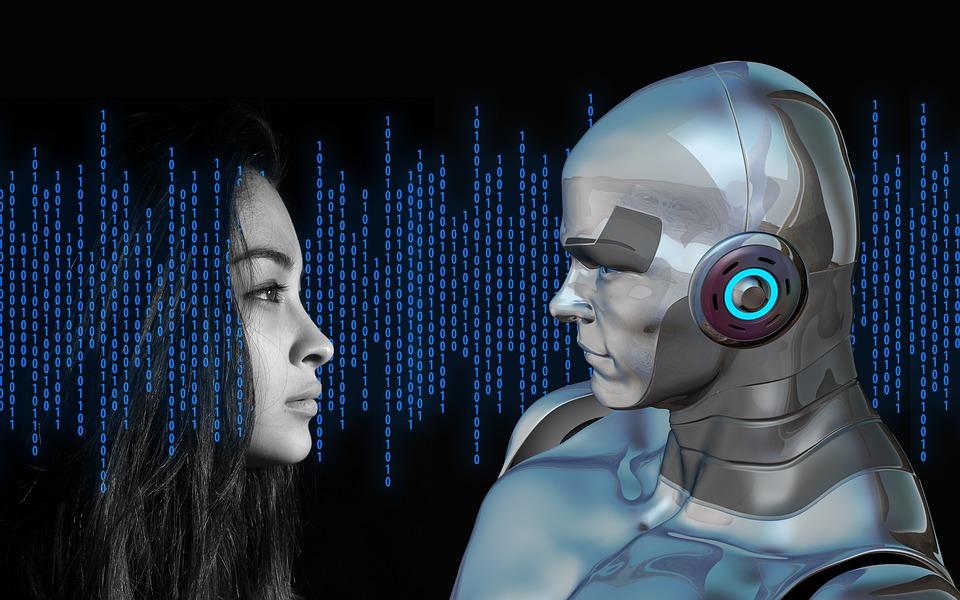 Immagine Essere umano, o macchina