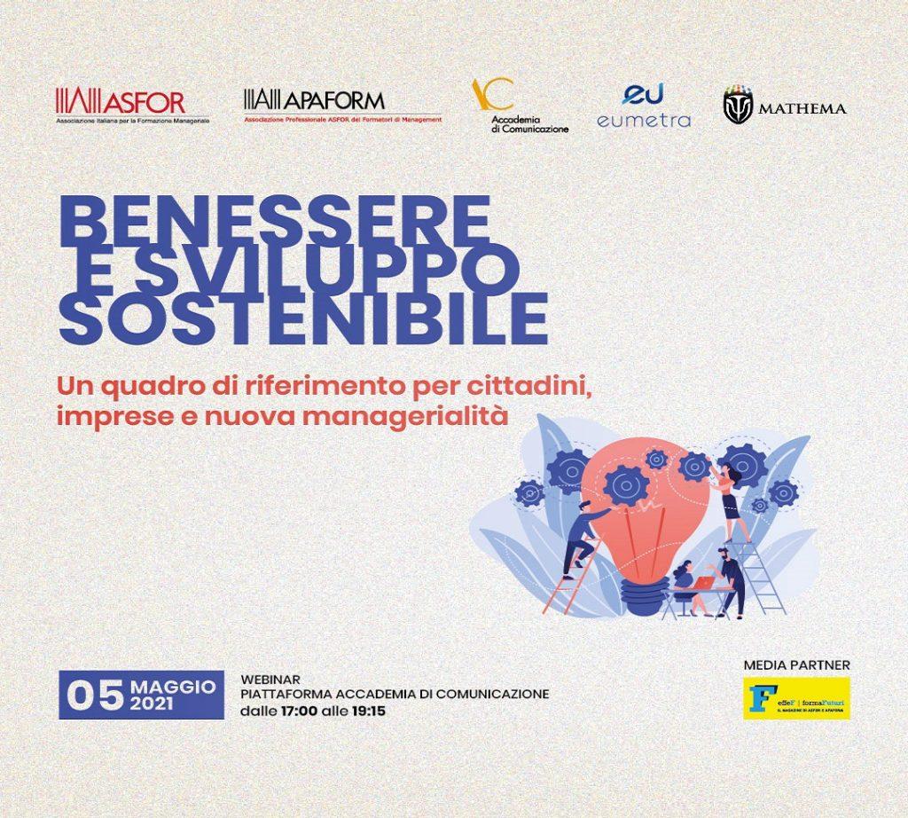 Immagine Benessere e sviluppo sostenibile, il ruolo delle imprese e dei giovani